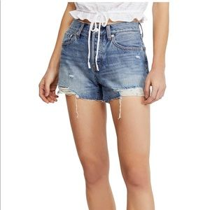 9a3f5a5365 Free People Shorts - Free People Sofia Cutoff Denim Shorts